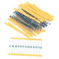 600pcs / pack 1 / 4W 30 Tipo Metal Film Surtido de resistencias kit de 1% cada 20 600pcs / pack, para Arduino para pi frambuesa, kit de la placa