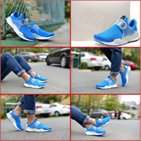shoes box design - 4 Colors With Box New Fragment Design Sock Dart SP Lode Classic Sky Blue Lightning Obsidian Mens Running Sneakers Trainers Shoes