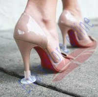 high heel stoppers - Round Thin Stiletto Heel Protectors Silicone PVC Plastic Dance Wedding Grass High Heel Shoe Protectors Gel Heel Covers Shoes Stoppers
