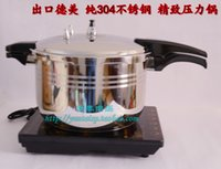 Wholesale Torturing11L CM SS304 thickening pressure cooker stainless steel big size pressure cooking pot