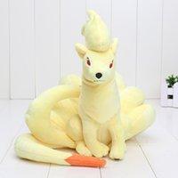 best child games - Poke Ninetales New Plush Doll Stuffed Cute Soft Toy cm pikachu toys For Children Best Gift