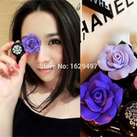 Wholesale 2015 New Big Candy Color Camellia Handmade Colored Contact Lenses US Pupil Jewelry Box Lovers Glasses Box