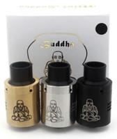 Wholesale Vaporizer Mini Buddha RDA Zephyr Buddha Rda tank Colorful fit E Cigarette DHL Free ATB457