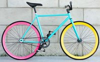 bmx bike - 700C Classic fixed gear bicycle OEM fixie bikes single speed steel fixed gear bikes