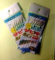Wholesale Hot package hooks High Quality Sea Fishing Sabiki Shrimp bait rigs baits Hooks Fishing lu