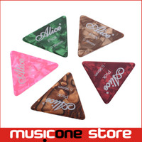 Wholesale 100 Alice AP L mm Large Triangle Guitar Picks whlolesale MU0280