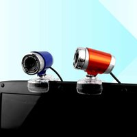 Wholesale Webcam Web Camera HD Cam USB Webcamera For Desktop PC Computer Laptop Skype MINI Webcams Optical Zoom Auto Focus Camara