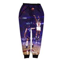 basketball graphic designs - New design d trousers super basketball star play basketball graphic sweatpant men running jogger pants hip hop mens clothes