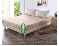 Wholesale High Quality Comfortable And Warm Cotton Mattress Protector Solid Color Mattress Cover