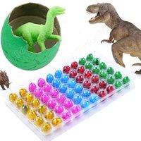 Wholesale New Hatching Growing Dinosaur Eggs Add Water Magic Cute Children Kids Toy SV009882