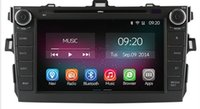 Wholesale Quad Core Pure Android Car DVD GPS For Toyota Corolla Radio Pc Built in WiFi Support OBD TPMS DVR