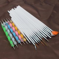 Wholesale Hot Nail Art Design Set Dotting Drawing Polish Manicure sets Tools T0928 W0