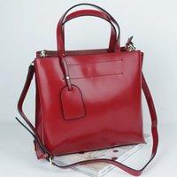 Wholesale 2014 Fashion handbag Genuine leather Handbags Simple Atmosphere Oil wax Cowhide Retro Portable shoulder cross ZPNB005