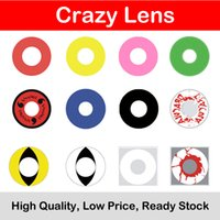 Wholesale Crazy lens Cosplay contact lens for DHL Ready Stock