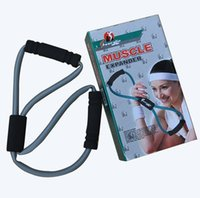 Wholesale new manufacturers selling portable eight bungee cord yoga with eight word pull pull rope cable machine chest expander
