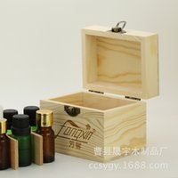 Wholesale Oil box wooden storage box upscale boutique box factory essential oils perfume classification made