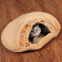 Wholesale Products for Cat Cozy Cat Sleeping Bag Cat Nest BedIndoor Pet Mat Pad Cushion Warm Small Animals Accassory