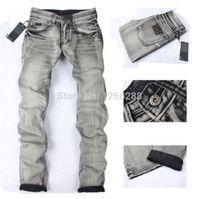 branded jeans - 2014 New Arrival Men jeans Fashion High Quality Brand Denim Jeans Men Men Jeans Brand Pants Plus Size A718