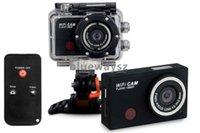 Wholesale WDV5000 Gopro Hero3 Style Action Camera Wifi Camera Wifi Control P Full HD IR Remote Control Waterproof Sport Camera
