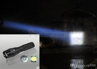 Wholesale AloneFire E007 XM L T6 LED Lumens zoom Rechargeable Headlight LED Headlamp CREE For car charger