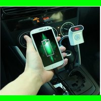 Wholesale in Bluetooth Adapter MP3 Player Wireless Car FM Transmitter Bluetooth Car Kit with USB Jack SD Slot