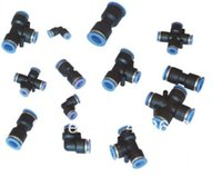 Wholesale plastic PU PE PG series fittings with solenoid valve V220 ect