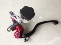 Wholesale ADELIN Red Black quot x mm Hydraulic Front Clutch Master Cylinder cc cc Remote Reservoir Adjustable Lever Left