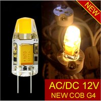 Wholesale new DC AC V g4 COB Led bulb Lamp SMD W W Replace w w halogen light Beam Angle luz lampada