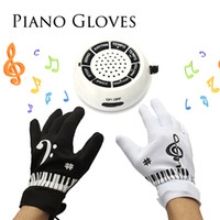 Wholesale Electronic Piano Hand Gloves Exercise Keyboard Music Toys Musical Instrument For Children Practise Learning playing Piano