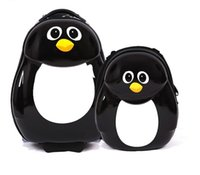 Wholesale Cuties and Pals Peko the Penguin quot Carry on Trolley Luggage Case quot Backpack Set