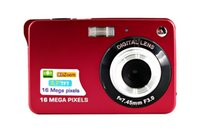 Wholesale HD Digital Camera MP inch TFT X Zoom Smile Capture Anti shake Video Camcorder Black Red Silver