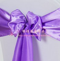 satin chair sash - 2015 Satin Chair Sashes New Arrival Various kinds of Colors for Choices Satin Chair Sashes