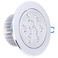 best bathroom cabinets - 2015 Best Quality LED Recessed Cabinet Ceiling Downlight W W W W W Cold White Warm White AC100 V For Home Lighting Decoration