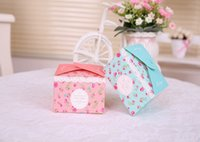 Wholesale 9 cm wedding candy box Party supplies packaging boxes creative candy boxes birthday party festival gift boxes
