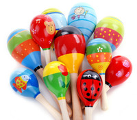 Wholesale High Quality Musical Toy Maraca Wooden Percussion Instrument for KTV Party Kids Children Toy Musical Instrument