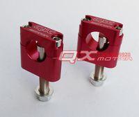 adjustable handlebar risers - Sports motocross MM adjustable handlebar clamp adapter code cnc fixed code riser seat