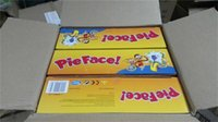 Wholesale Hottest Running Man Pie Face Board Games Pie Face Cream On Her Face Hit The Send Machine Paternity Toy with DHL