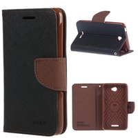 sony xperia sp - For Sony Xperia E4 Case Mercury Wallet PU Flip Leather Case Cover With Credit Card Slots For Sony Xperia E3 M2 M4 E1 C3 S55 SP M35h A0474