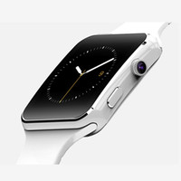 Wholesale Bluetooth Smart Watches X6 Sport Smartwatch For iPhone Android Phone With Camera Support SIM Card TF Smart Watch Phone
