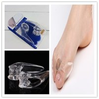 Wholesale Silicone Toe Separator Gel Separators Stretchers Bunion Protector Straightener Corrector Alignment Thumb Orthotics