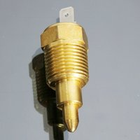 Wholesale 1x Degree Gold Fan Ventilator Thermostat Temperature Switch Fits Engine order lt no track
