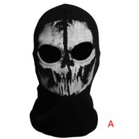 riding toys - S5Q Skull Ghost Halloween Toy Cosplay Headgear Motorcycle Bicycle Ride Hood Mask AAAEBE