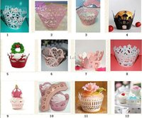 Wholesale Cupcake Wrappers Wraps Liners For Weddings Baby Showers Christenings Party Favor