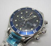 Men's antique watch face - Luxury James Bond Mens Automatic Mechanical Stainless Steel Watches Original Buckle Antique Men Dress Wrist watch Blue Faces