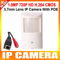 Wholesale H P IP Hidden with poe port Covert Camera Motion Detector HD PIR STYL wired IP Camera MP P2P Function Security Network Cameras