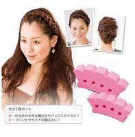 Wholesale 1Pcs New DIY Sponge Magic Hair French Braider Hair Twist Styling Braid Tool Holder Clip Hairdo Item