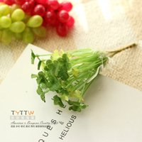 Wholesale Tao Tao House Cheap exquisite pastoral simulation grass clover simulation flowers simulation green plants