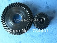 Wholesale 1 module transmission ratio or spiral umbrella gear gear ratio is pierced teeth and teeth