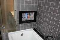 Wholesale Free drop shipping Inch Waterproof Bathroom Magic Mirror TV with Digital TV USB HDMI Port LCD Flat Screen Televisions