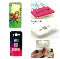 anchor flowers - For Samsung Galaxy J5 J500 J7 J700 Flower Owl Moon Bear Heart Soft TPU Silicone Case Dreamcatcher Feather Anchor Cellphone Cover Rubber Skin